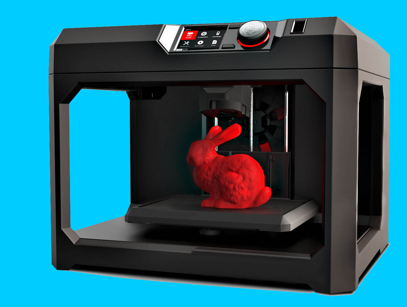 3D Printer With NPH Silicone Pad Heater
