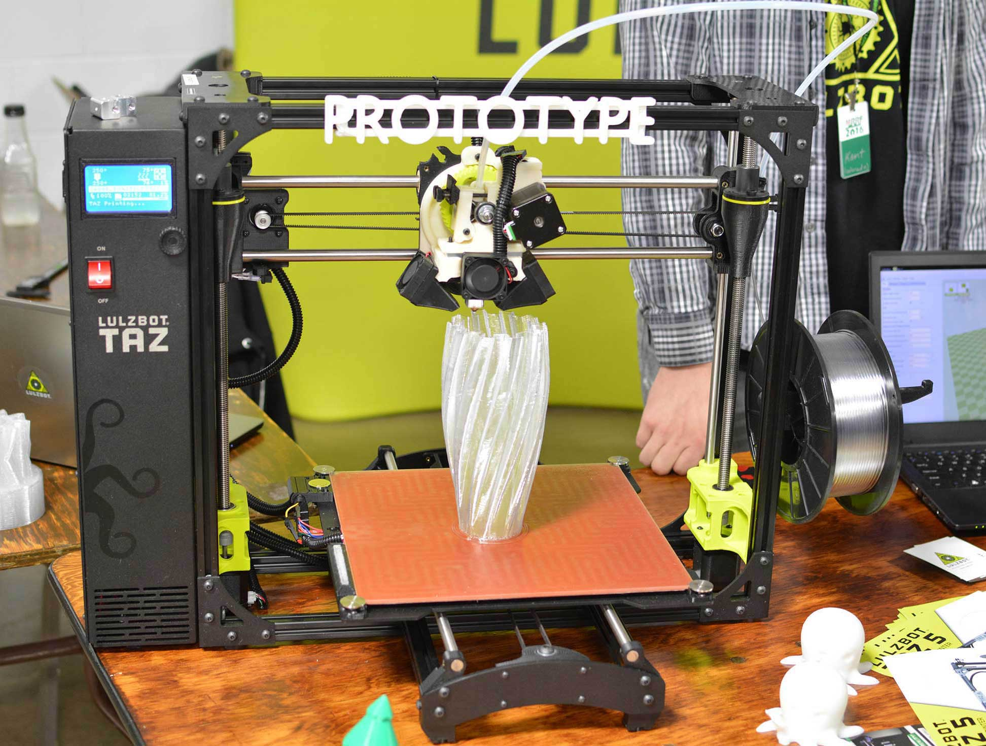 3D Printer Hot Bed Using Custom NPH Siilicon Heater