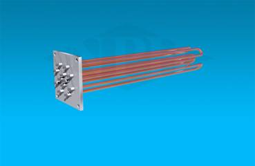 Square Flange Immersion Heater